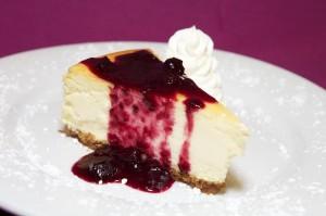 Cheesecake is a Steak House favorite