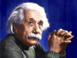 Albert Einstein contemplates the metrics of Social Media Marketing