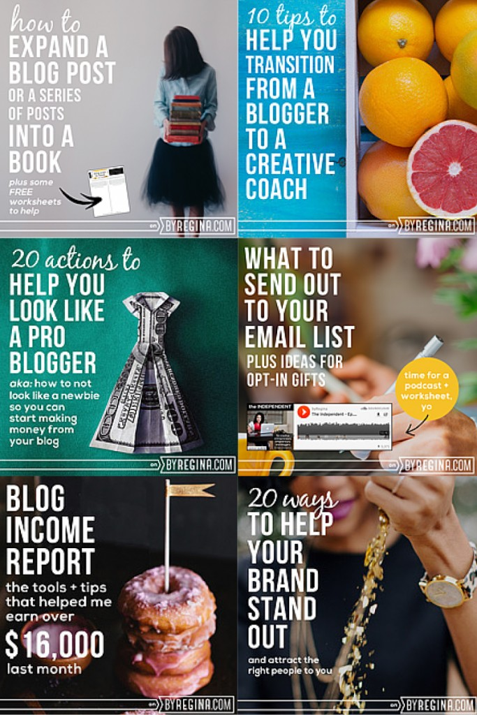 10 Bloggers Who Blog About Blogging:  By Regina
