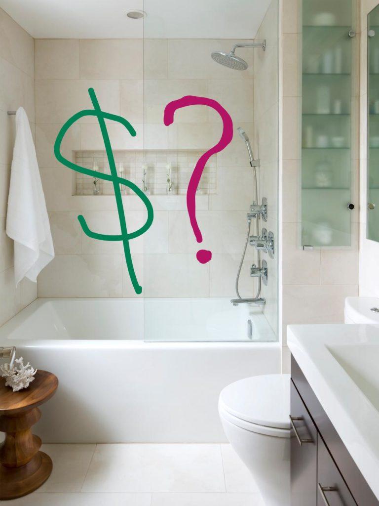 Set your bathroom remodel budget