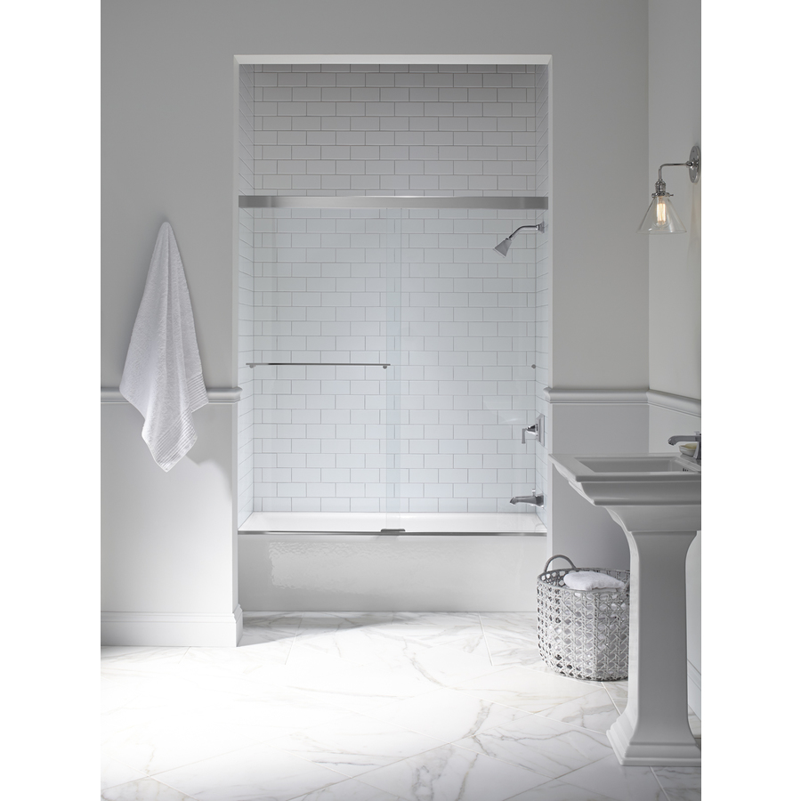 Modern White Inspired Kohler Bathroom