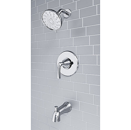 Phister Ladera Shower Faucet and Tub Spout Combo