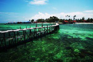 Kakaban Island in Kalimantan