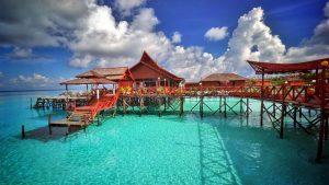 Maratua Island in Kalimantan