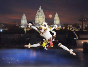 Hindu temple in Indonesia