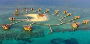 Pulo Cinta Eco Resort in Kaliantan Borneo